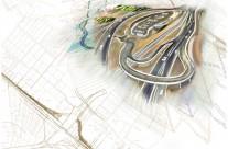 מדידת פרויקט הנתיב המהיר בכביש מס' 1